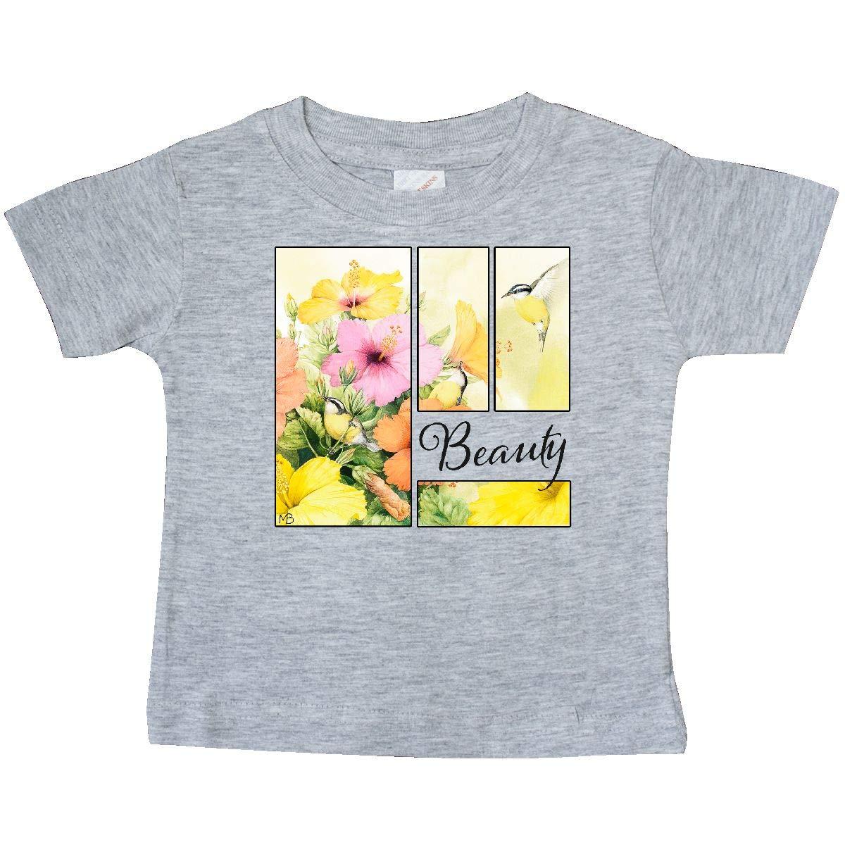 Marjolein Bastin inktastic Beauty Birds and Flowers Baby T-Shirt