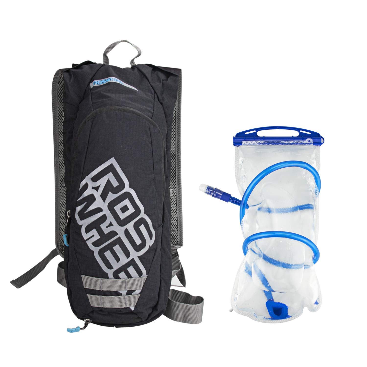 Allnice Backpack Water Bag 2 LTR Bladder Bag Hydration Pack 2.5L Cycling Pouch