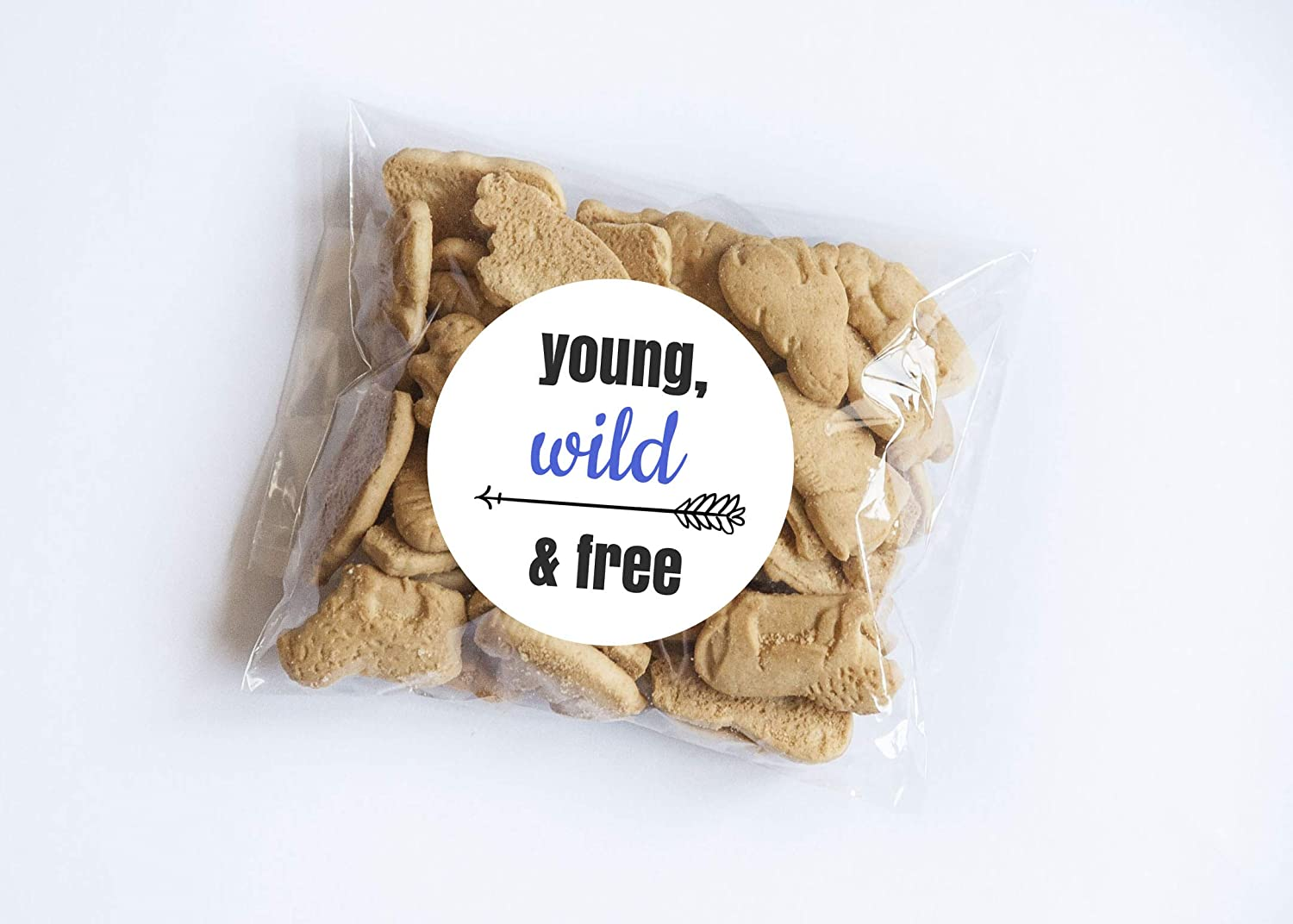 Set of 20 Wild and Free Stickers