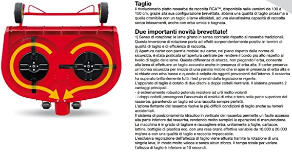 Tractor cortacésped cortacésped PROFESIONAL Gianni Ferrari Turbo 2 ...