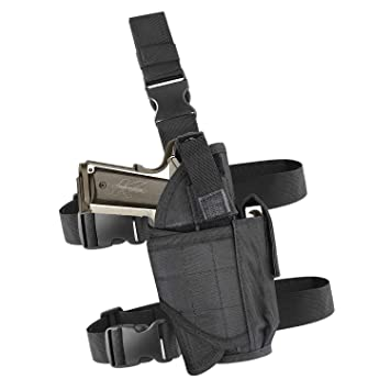 Amazon.com : EZT3D Leg Gun Holster Adjustable Hunting Right Handed