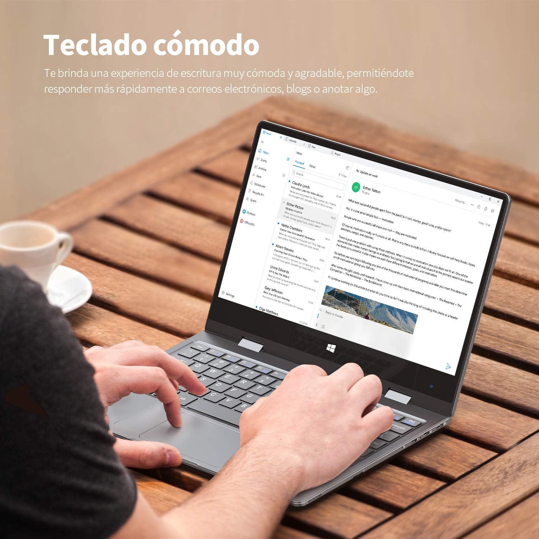 BMAX Y11 Ordenador Portatil, 2 en 1 Táctil Convertible Laptop 11.6 ...