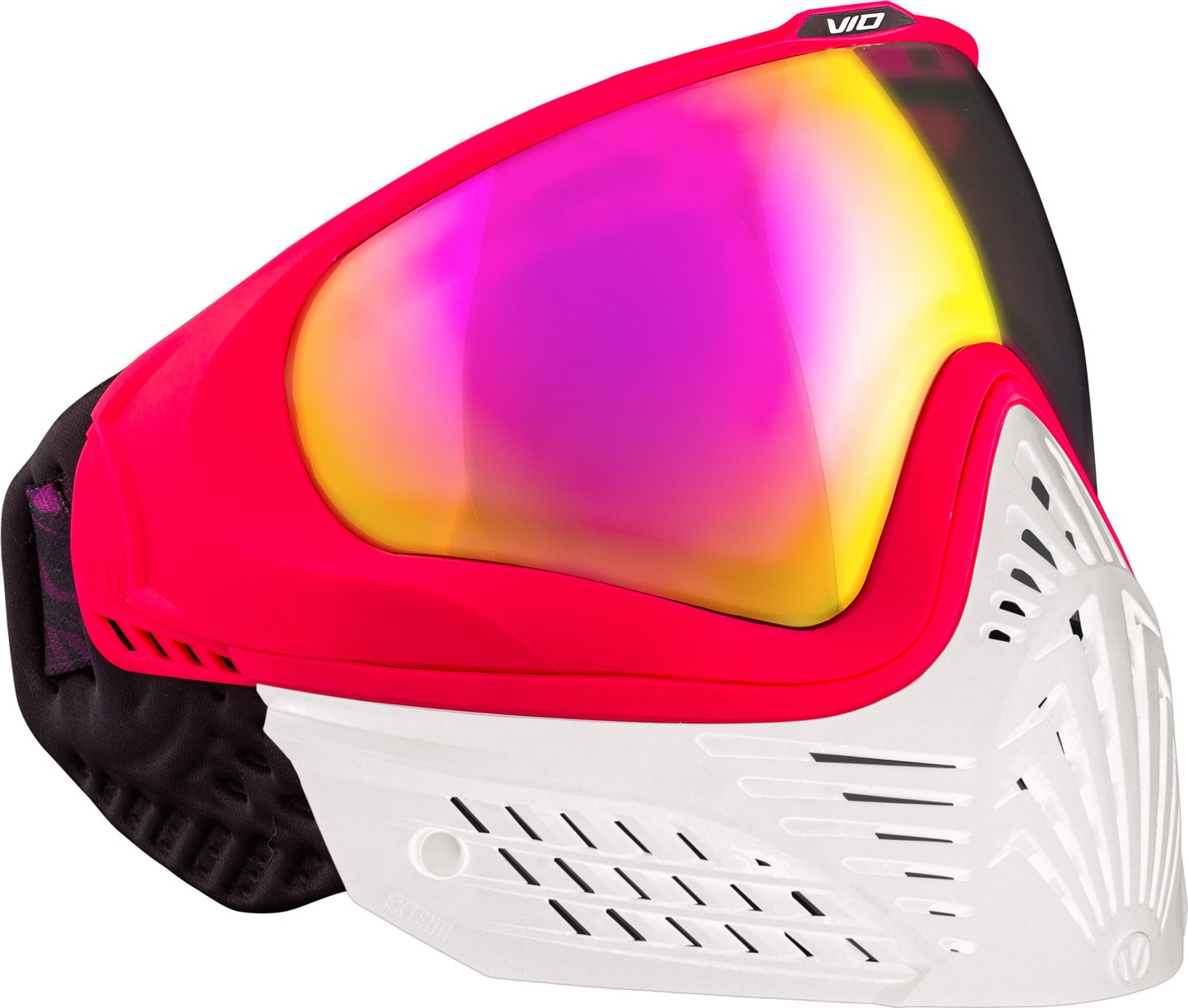 Virtue VIO Extend Thermal Paintball Goggles/Masks - White Ruby by Virtue Paintball