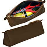 Leaderachi Muskat Hunter Leather Utility Pouch - Triangle