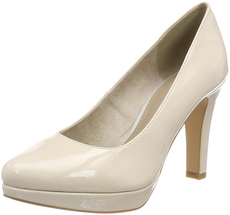 s.Oliver 22410, Zapatos de Tacón para Mujer 41 EU|Rosa (Nude Patent)