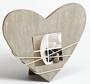 Metall Bilderrahmen Metallrahmen von Henzo Sweet heart 10x15 Silber mit Glas
