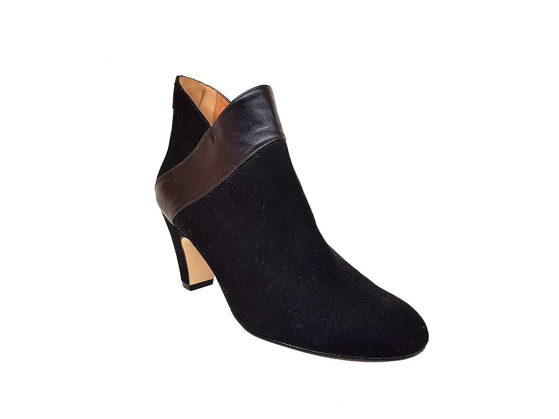 Gennia - XEBIEN, Damen Stiefel & & Stiefel Stiefeletten mit Absätz 6 cm + Reißverschluss 7cd9a6