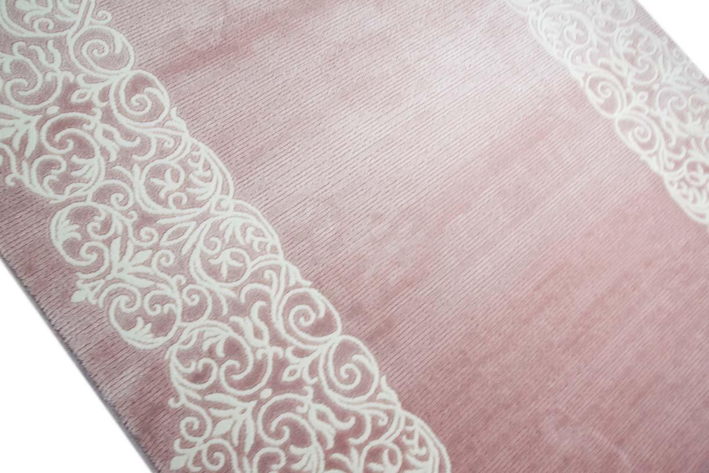 Designer Teppich Moderner Teppich Wollteppich Bordure Design X Mit