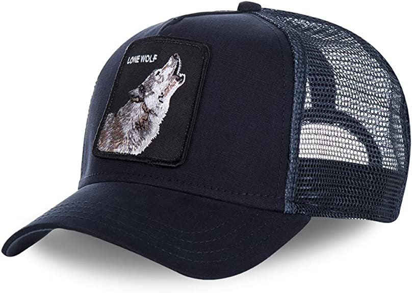 Gorra Trucker GOORING Wolf Marino Unica Azul: Amazon.es: Zapatos y ...