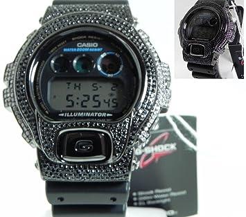 e558b60980ea Amazon.com: Casio G-shock Custom 3 Ct Stone Cz 300 Pcs Mens Watch ...