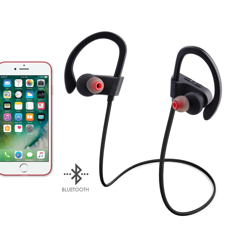 Qedertek Auriculares Inalambricos Bluetooth Deportivos para Hacer Dportes, Correr con Móviles iPhone, Samsung, etc: Amazon.es: Iluminación