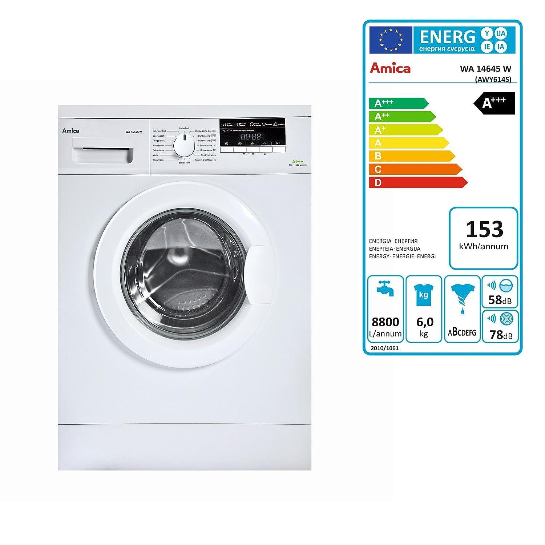 DEMA Amica lavadora a + + + 6 kg/1400 U/min: Amazon.es: Bricolaje ...