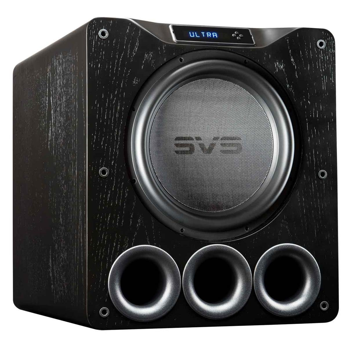 Svs Pb16 Ultra Subwoofer Black Oak 16 Inch Driver 12quot 1500w Active Car Sub Bass Box Wiring Kit And 1500 Watts Rms Dsp App Control Ported Cabinet Home Audio Theater