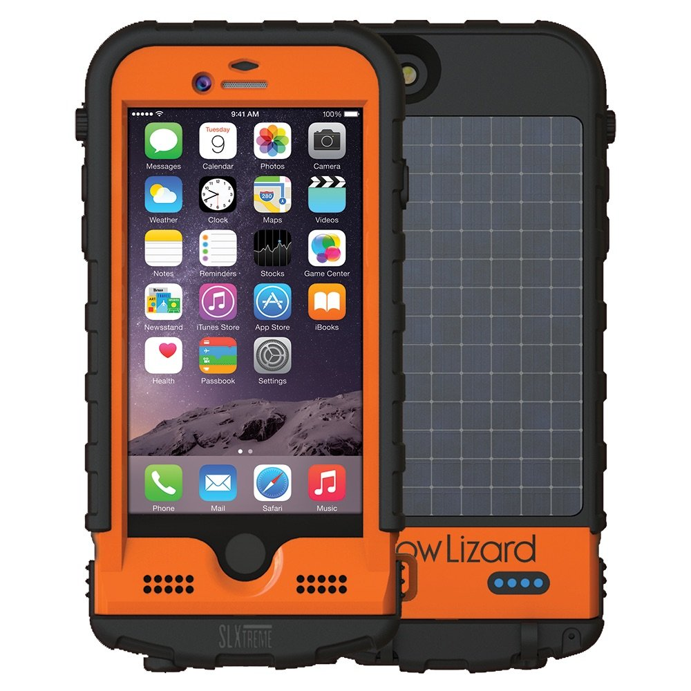 Snow Lizard Products SLXtreme Case for iPhone 6, Signal Orange by Snow Lizard Products