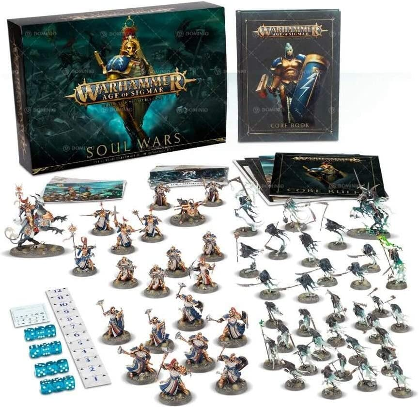Warhammer age of sigmar soul wars stormcast half new on sprue