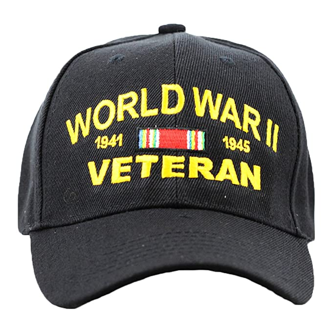 Amazon.com  WWII Veteran Hat For Men and Women ab3817177c