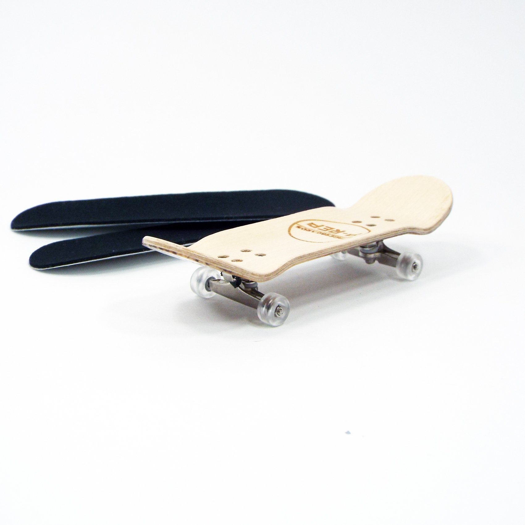 Peoples Republic P-REP 30mm Basic Complete Fingerboard Kit with Liquid Hardware - Zebra by Peoples Republic (Image #4)