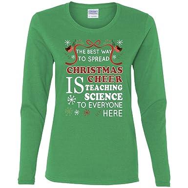 Amazon.com: 7C7 Funny Teacher Gifts Funny Science Teacher Christmas ...