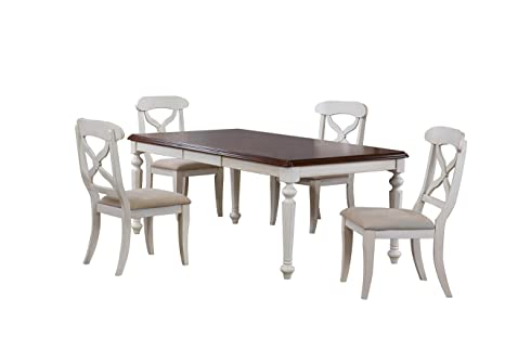 Amazon.com - Sunset Trading Andrews Dining Table Set ...