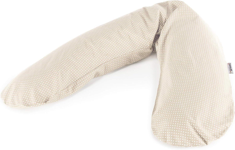 Theraline Coussin d'allaitement 190 cm accessoires d'allaitement, pois beiges: Theraline