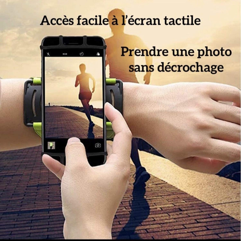 pour Samsung Galaxy S20 S10 S10E S9 S8 et pour Iphone 11 11Pro 11Pro Max X XR Xs Brassard Multifonction 180/° Rotatif de Sport Anti-sueur pour T/él/éphone au bras//poign/ée avec sangle ajustable