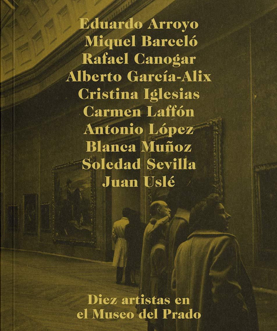 Diez artistas en el Museo del Prado - Libros sobre museos