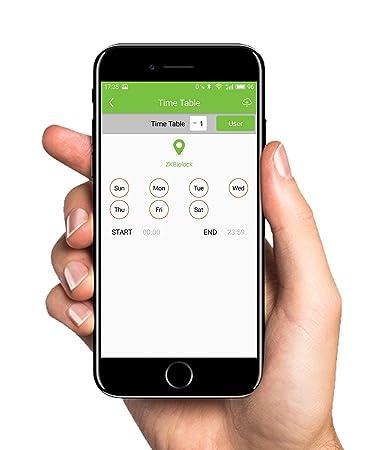 Amazon com : Electronic Smart Lock Biometric Fingerprint