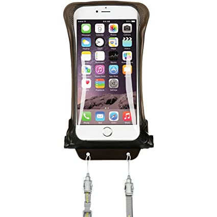 AquaVault 100% Waterproof Floating Smart Phone Case & Money Pouch, Fits All  Phones, Dual Layer Shock Absorbing, Includes N