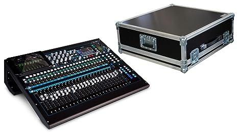 Allen & Heath qu de 24 C mesa de mezclas Set con campana Case (24 ...