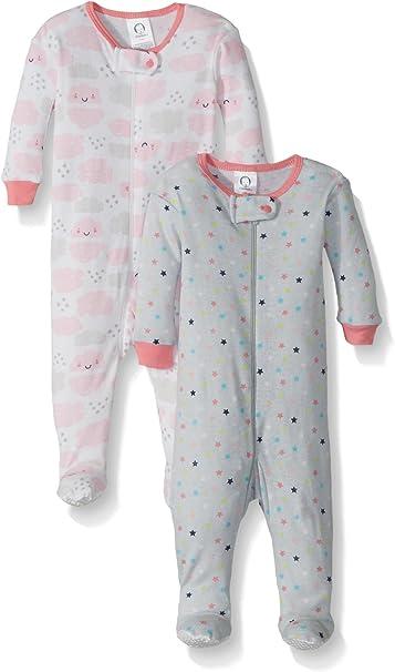 Gerber baby-girls Baby-Girls Newborn Two-Pack Nightgown
