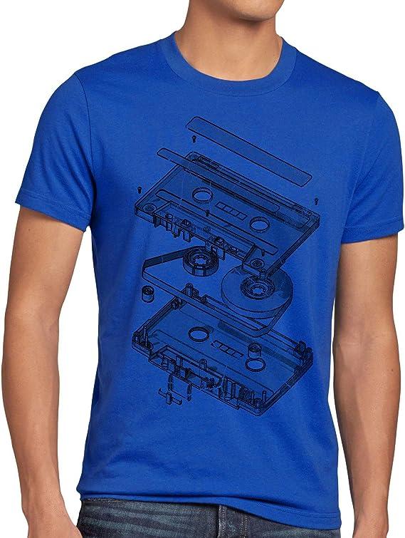 style3 DJ Tape Camiseta para Hombre T-Shirt Turntable 3D MC: Amazon.es: Ropa y accesorios