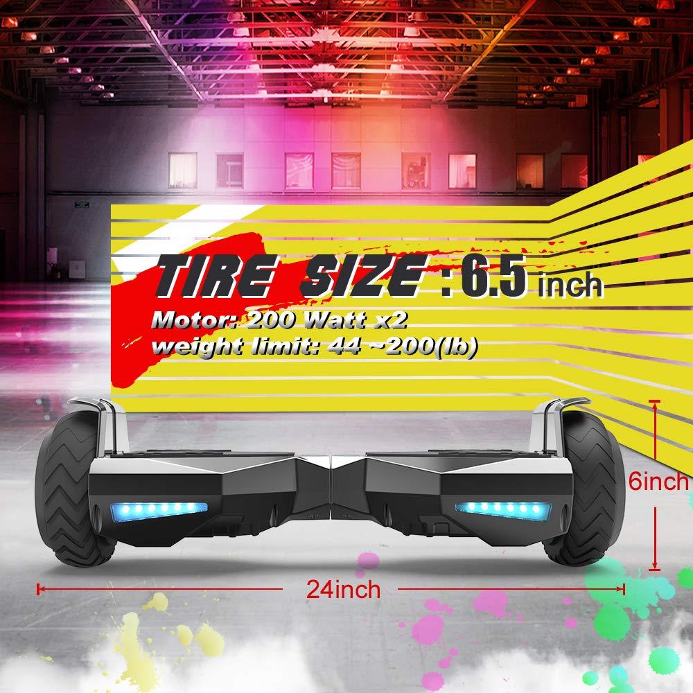 Amazon.com: Hoverstar Hoverboard HS2.0 - Rueda de flash con ...
