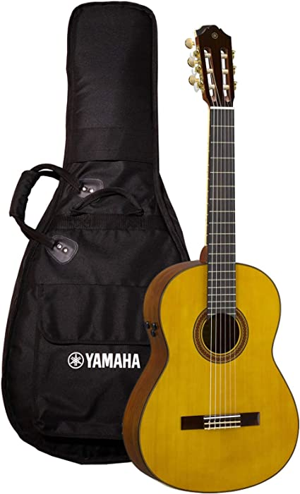 Yamaha CG-TA Guitarra clásica transacústica: Amazon.es ...