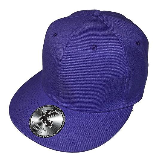 Gorra de béisbol de la inconmovible Lila visera plana SnapBack ...