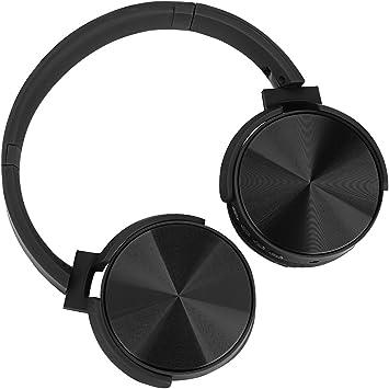 Excelvan Auriculares Cerrados Bluetooth con Modo FM, Función de ...