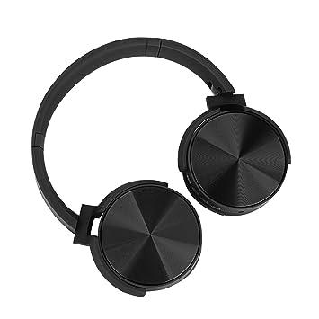 Excelvan Auriculares cerrados Bluetooth con Modo FM, Función de Tarjeta TF, Auriculares Inalámbricos plegables para Smartphone, Tablet, MP3 etc, ...