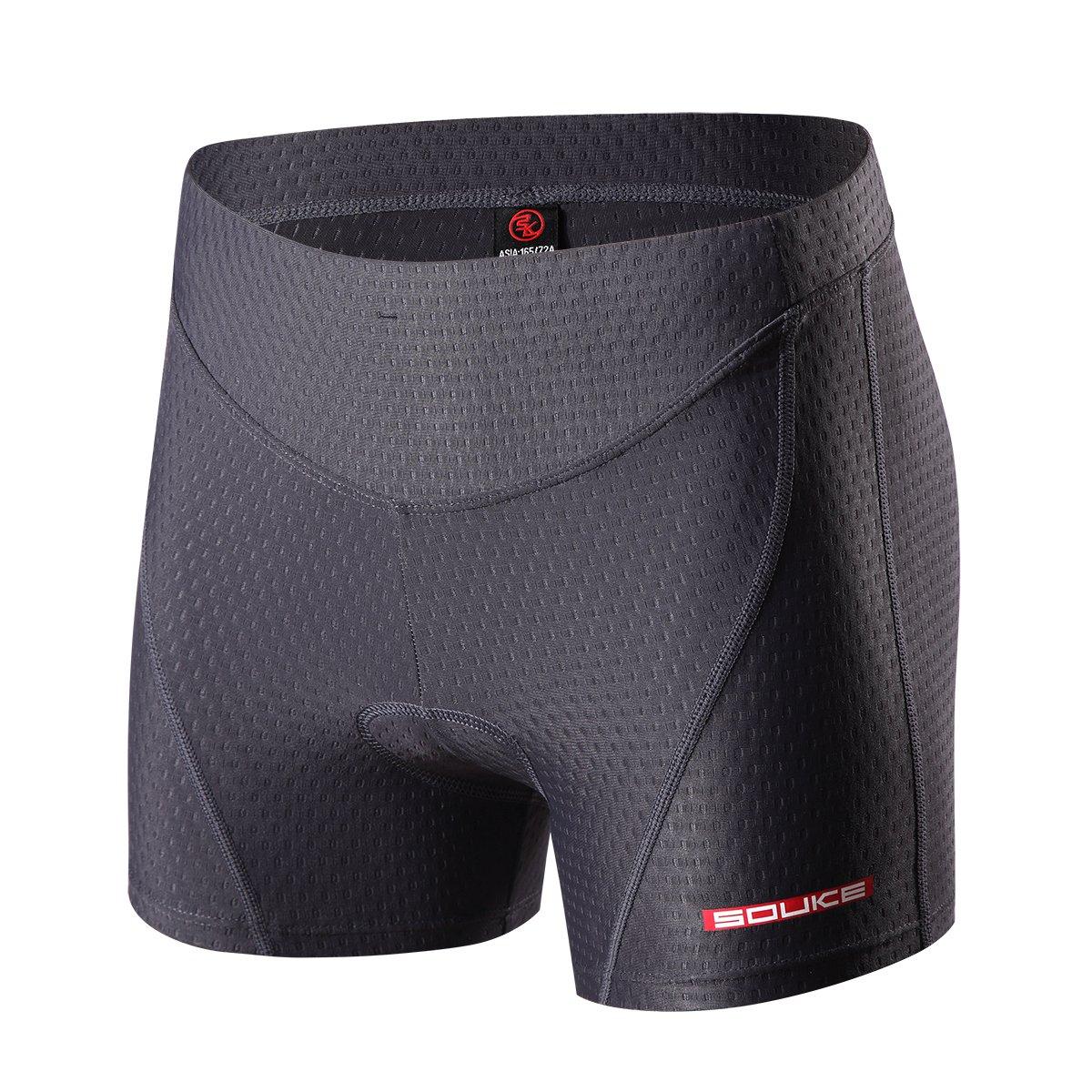 Eco-daily Cycling Shorts Women's 3D Padded Bicycle Bike Biking Underwear Shorts