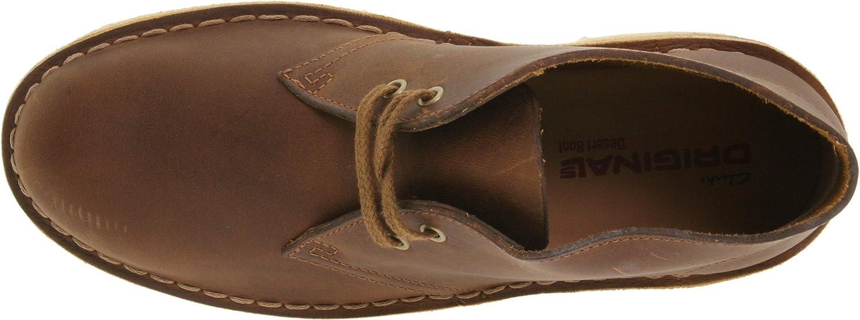 CLARKS Women's Desert Boot B0023NTXYG 10 B(M) US|Beeswax Leather