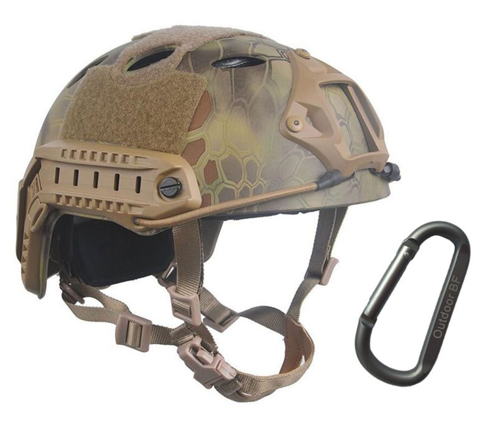 Tactical Fast Adjustable Helmet PJ Type (Jungle python) by Outdoor BF