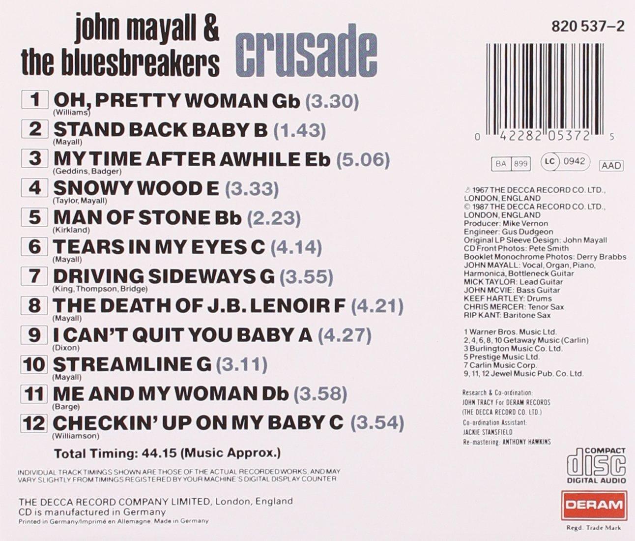 John Mayall & The Bluesbreakers - Crusade - Amazon.com Music
