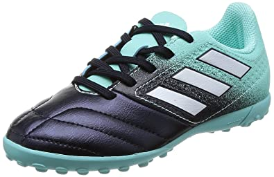 dd154c46c90 adidas Futsal Shoes Turf Kids Football Outdoor ACE 17.4 Boys Boots Junior  S77121 (US 4.5
