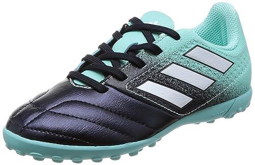 newest 3005c d368f adidas Ace 17.4 Tf J Scarpe da Calcio Unisex-Bambini, Blu (Energy Aqua