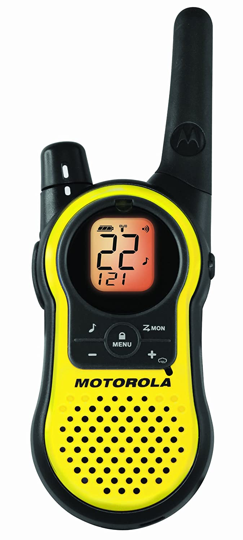 motorola walkie talkie. amazon.com: motorola mh230r 23-mile range 22-channel frs/gmrs two-way radio (pair): home audio \u0026 theater walkie talkie w