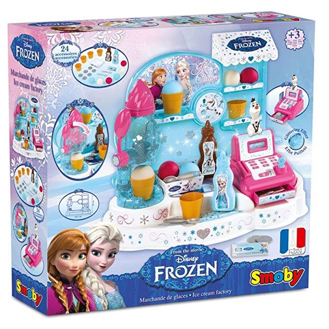 Frozen - Heladera, Tienda de Juguete (Smoby 350401): Amazon.es: Juguetes y juegos