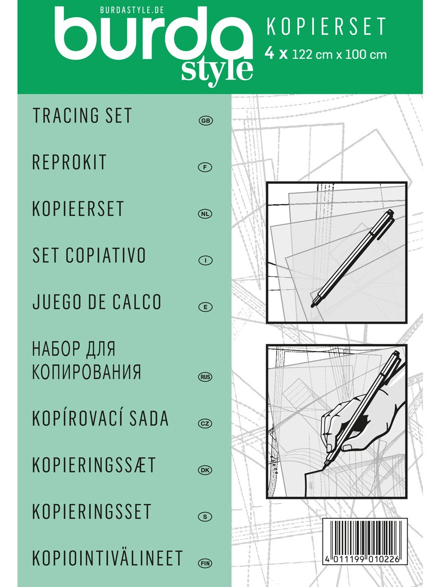 Burda Style Kopierset Kopierfolie und Stift: Amazon.de: Küche & Haushalt