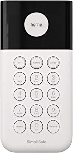 SimpliSafe Wireless Keypad - Touch-to-Wake Technology - Compatible with The Home Security System (New Gen)