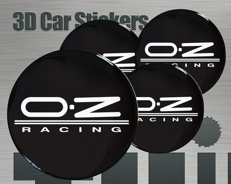 Unbekannt Oz Racing 4 Stück 55mm Aufkleber Emblem Für Felgen Nabendeckel Radkappen Auto