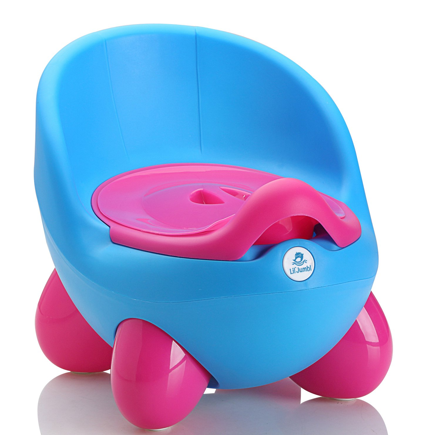 Lil' Jumbl Potty Training Eggie | Kids Toilet Chair Choice (Blue) Lil' Jumbl LJBP02B