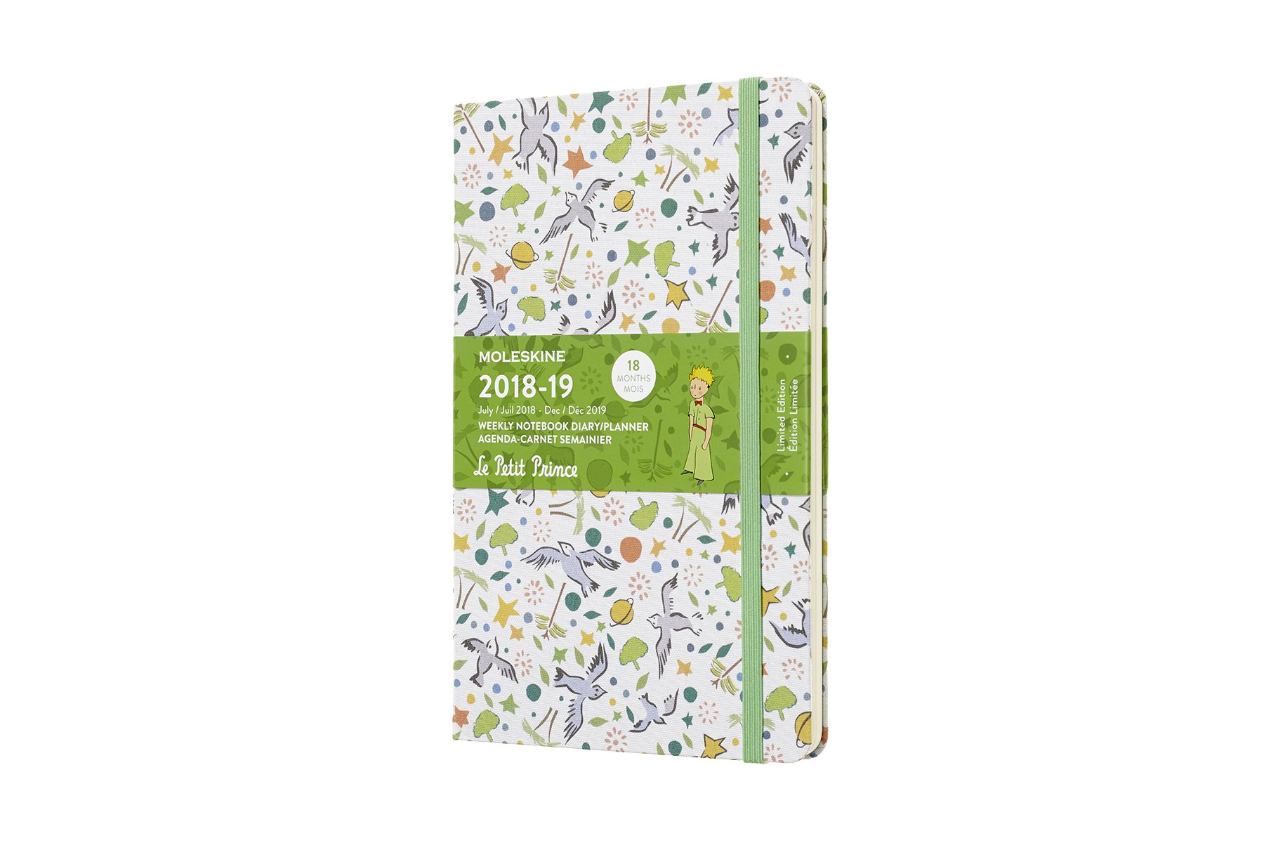 Moleskine 2018-2019 18m Limited Edition Petit Prince Large.