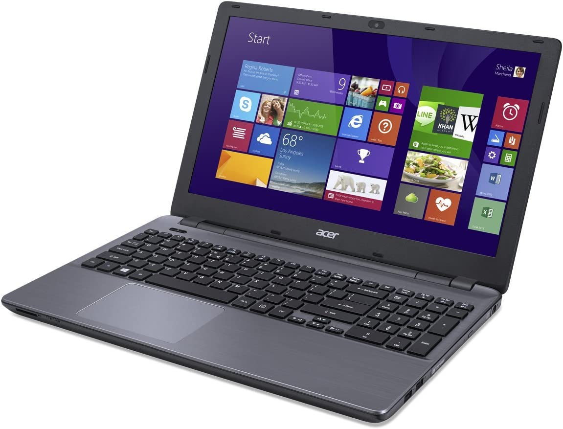 Acer Aspire E5-571-53S1 Notebook Intel Core i5 5200U 2.20GHz 4GB Memory 500GB HDD Intel HD Graphics 5500 15.6